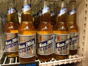 フィリピンビールのサンミゲルライト