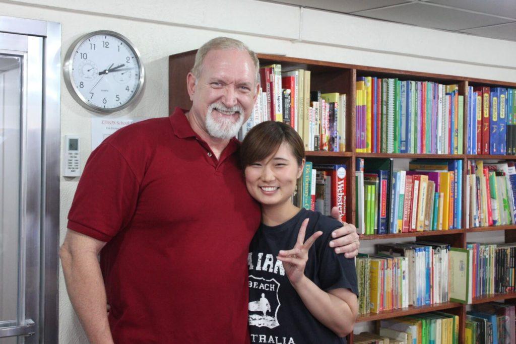 フィリピン留学アメリカ人とレッスン