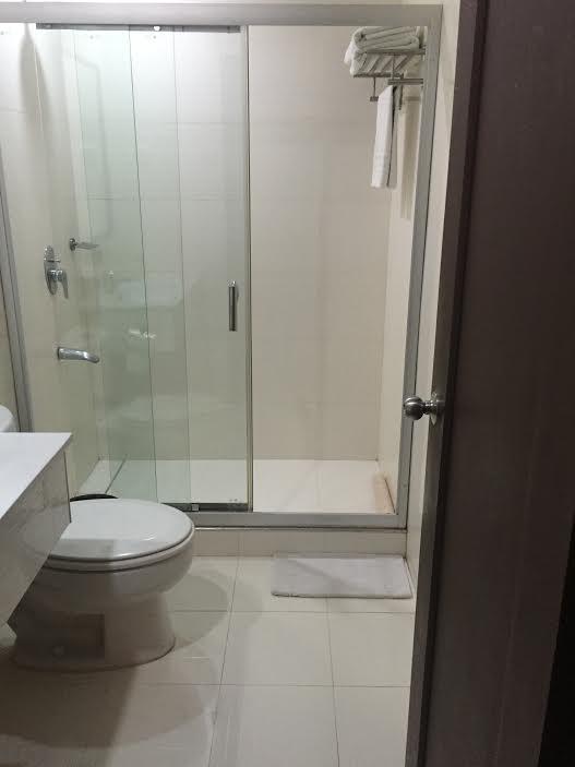 バスルームもキレイです。