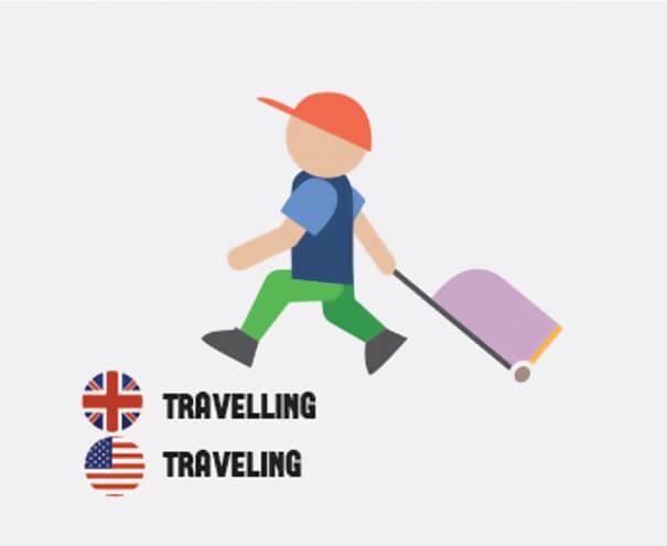 イギリス英語とアメリカ英語の違い、旅行者