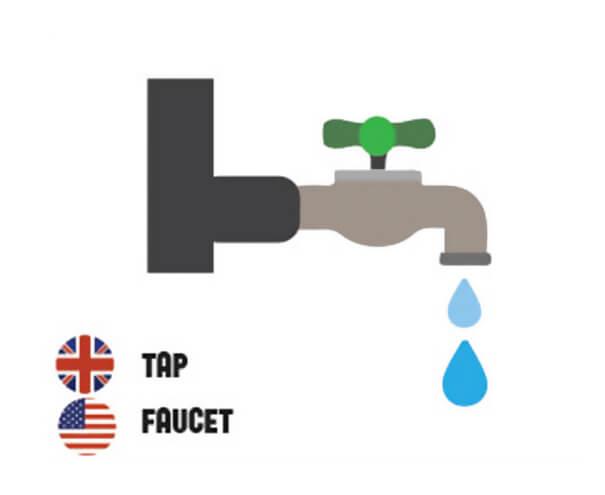 イギリス英語とアメリカ英語の違い水道水