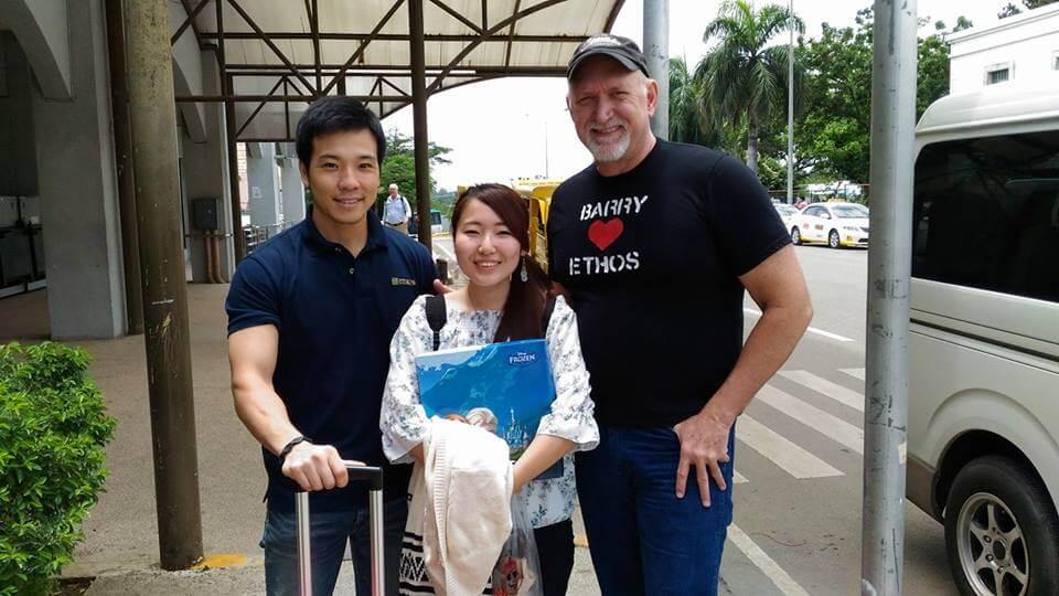 フィリピンでアメリカ人とホームステイ
