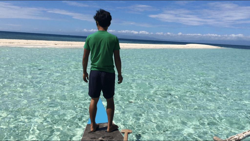 満潮になると消える幻の島?
