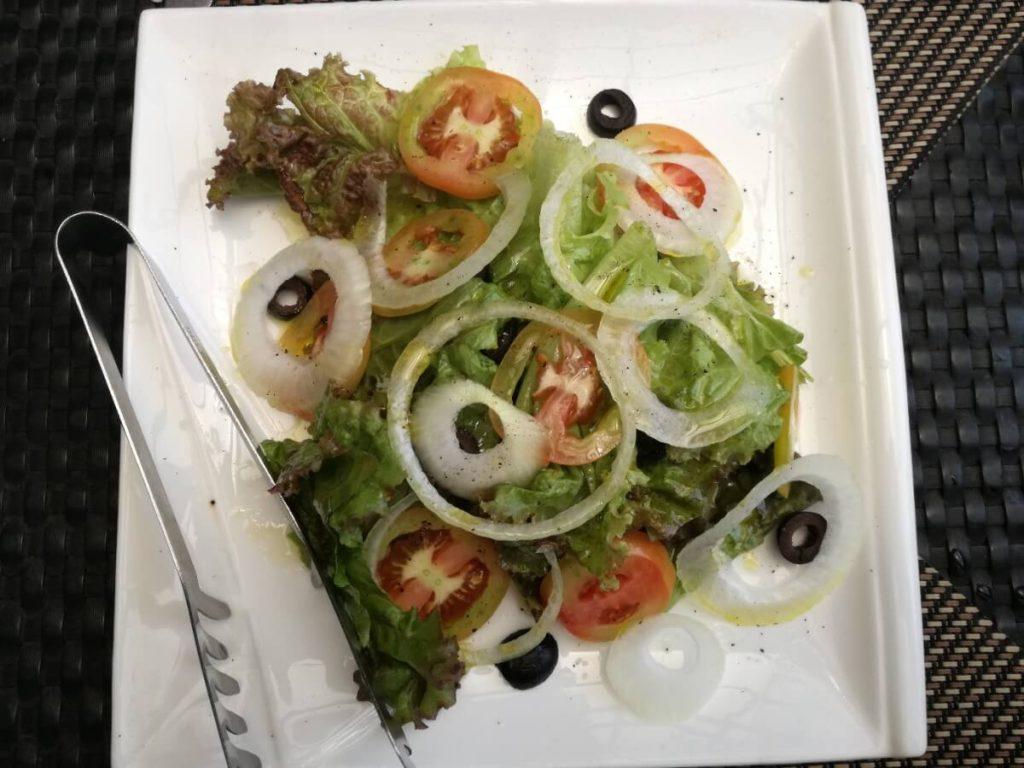 ミケランジェロのサラダ。