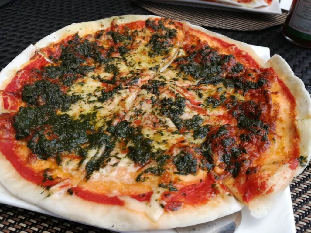 ミケランジェロのペストピザ
