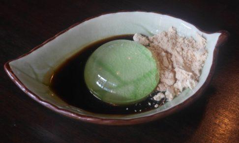 東京出身の僕がセブ島で食べる水信玄餅