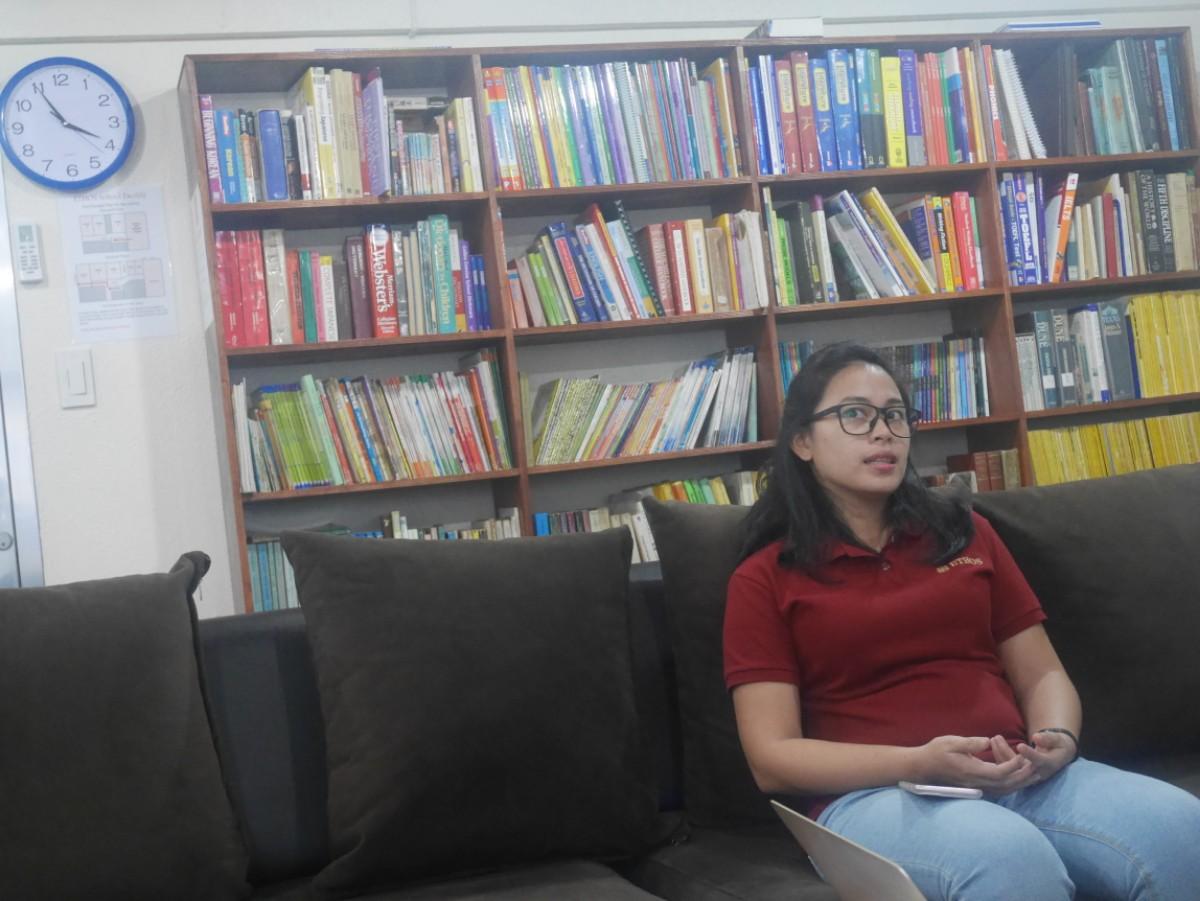 「インタビュー:タンタン編」フィリピン・セブ島留学ETHOS校で働くフィリピン人スタッフの仕事