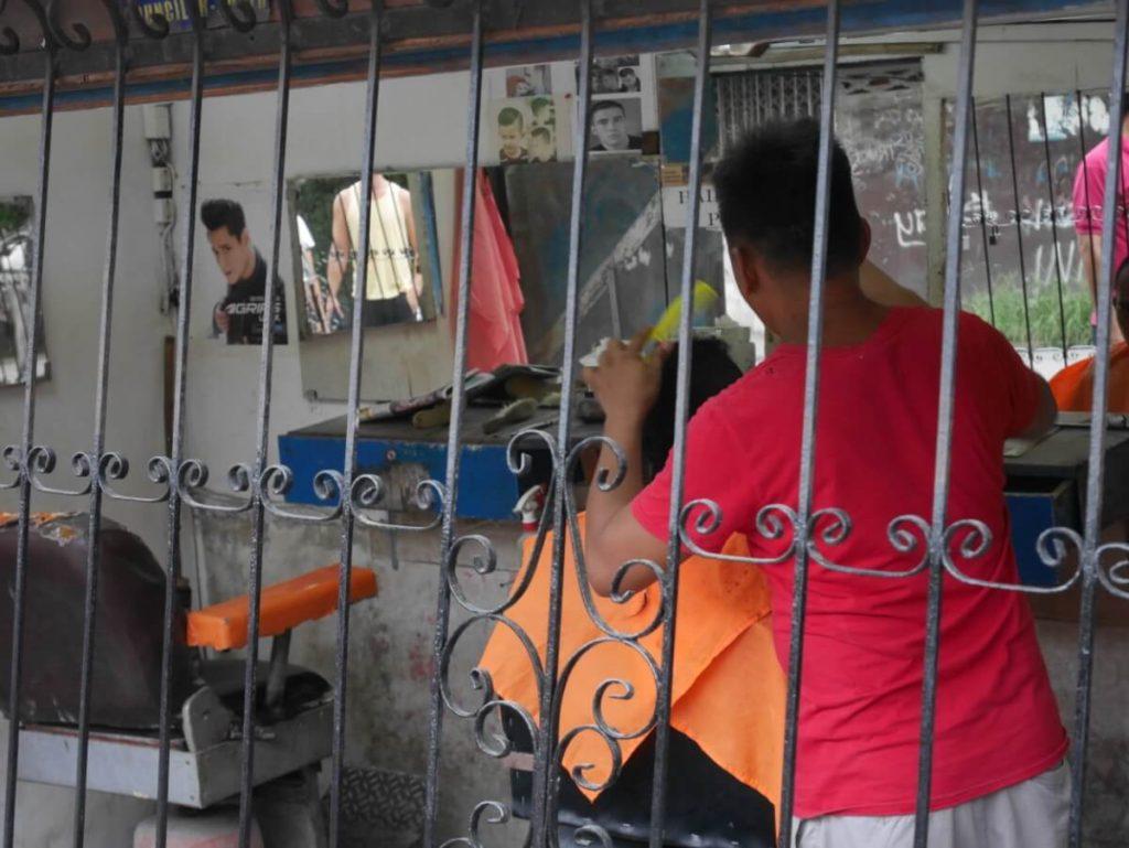フィリピン人の通うローカル美容院