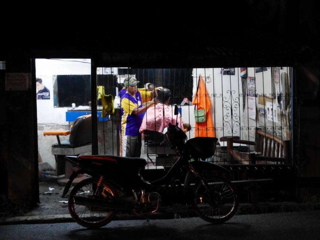 夜6時すぎのフィリピン