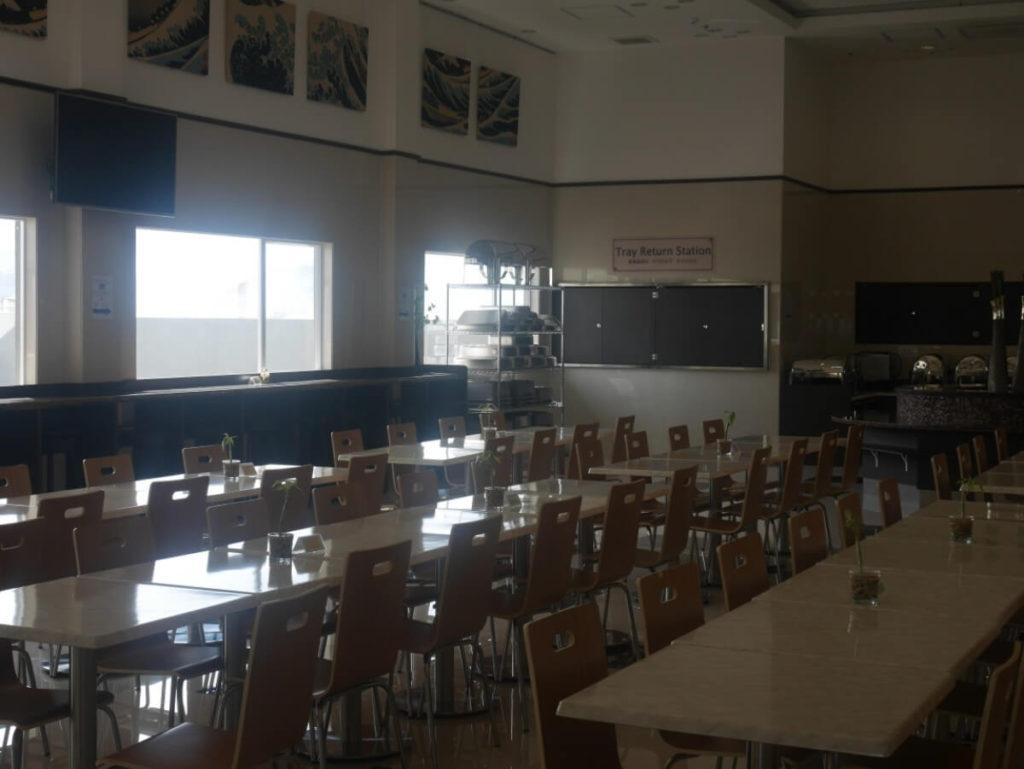 セブ島東横インの食堂