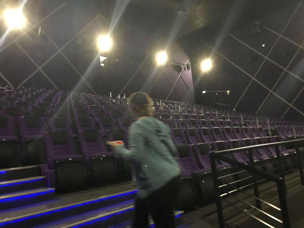 映画館のなか
