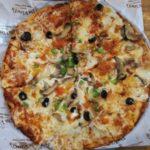 クリスピーなピザ