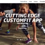 Fitness Firstのウェブサイト